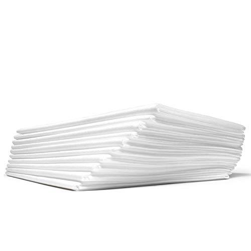 Dr. Güstel Waschfaserlaken® ACTIV 10 Stk+2 GRATIS 80x210cm weiß STANDARD 100 by OEKO-TEX®-zertifizierte klimaneutrale Vlieslaken Auflagen für Behandlungsliegen