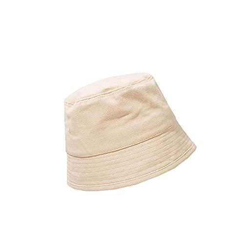 RWHXN Sombrero de Protección EMF Pescador contra La Radiación con Tela Protectora de RF Plateada Especial, Bloqueo Señales Inalámbricas 5G Tamaño Universal para Adultos-Beige-Unisex