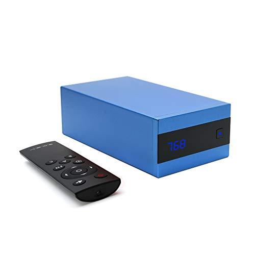 S.M.S.L Sanskrit 10th MKII AK4493 HIFI 768KHz 32Bit XMOS USB Native DSD256 Decoder (Blue)