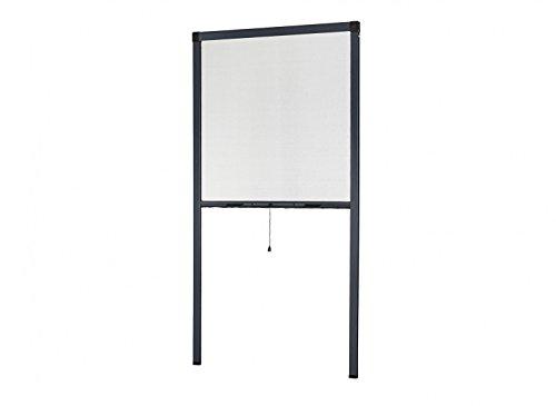empasa Insektenschutz Fliegengitter Rollo Insektenschutzrollo Fenster SMART weiß, braun oder anthrazit