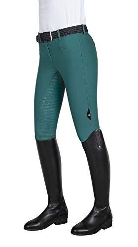 Equiline Damen Reithose Cedar X-Grip Vollbesatz elastischer Beinabschluss , Größe:36, Farbe:tobacco
