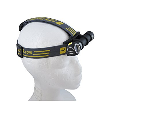2015 Armytek Wizard V2 1050 Lumens (1200 LED lumens) Brightest Rechargeable Headlamp Bicycle Headlight by Armytek