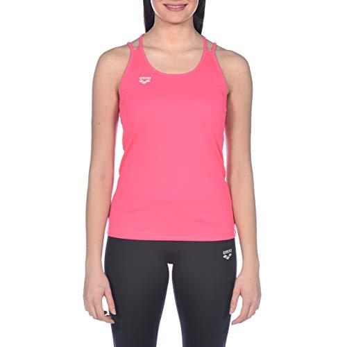 Arena W Tank Top Slim Strap Camiseta De Tirantes Finos Mujer Gym, Aphrodite, M