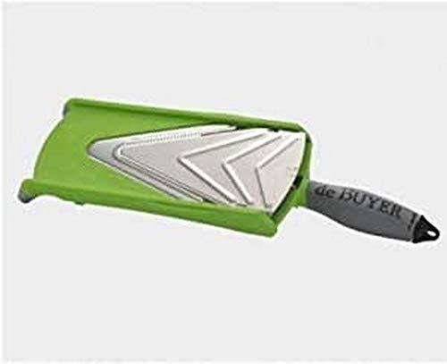 De Buyer Kobra Axis Mandolina, plástico, Verde, 36.5 x 12.2 x 8 cm