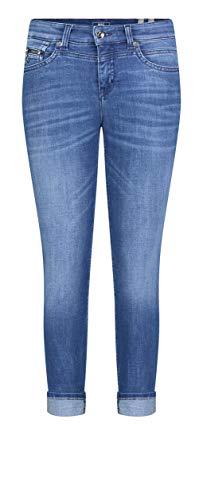MAC Jeans Damen Rich Slim Jeans, D481 Authentic Blue wash, 34/28