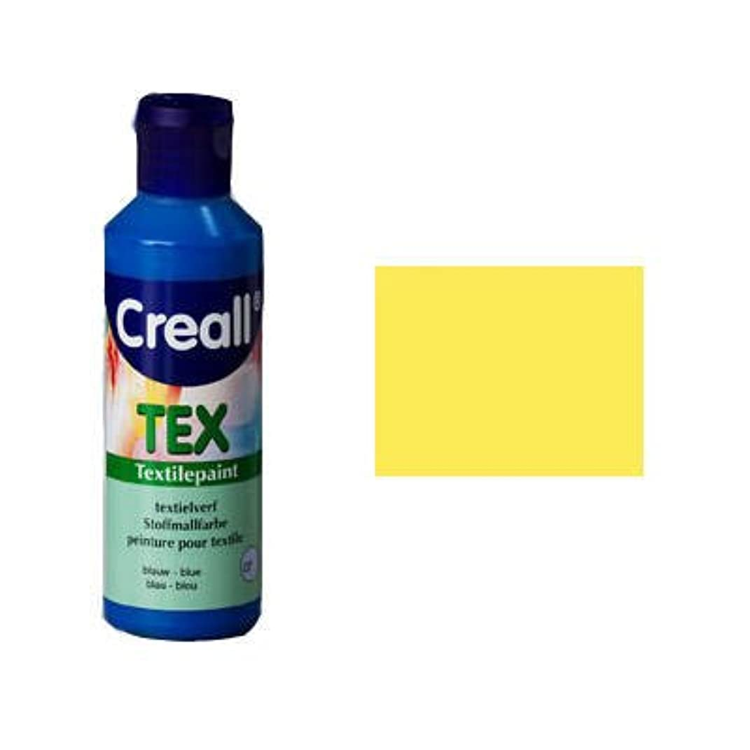 Creall Havo90701 80 ml 01 Light Yellow Havo Textile Paint Bottle