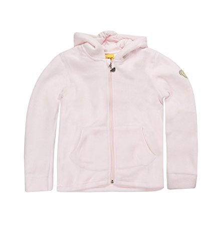 Steiff 0006837 Sweatjacket 1/1 Sleeves Veste, Rose (Barely Pink), 6 Ans (Taille Fabricant:116) Unisex bébé