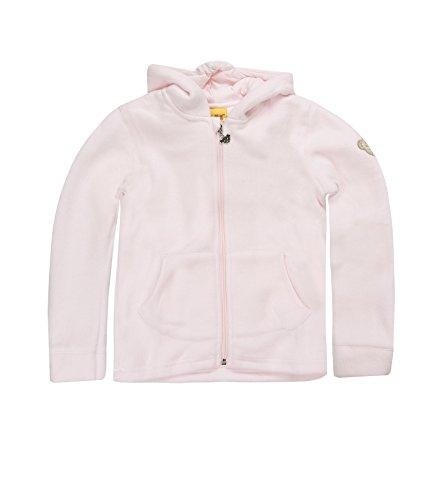 Steiff Unisex - Baby Sweatjacke 0006837, Gr. 86, Rosa (bareley pink)
