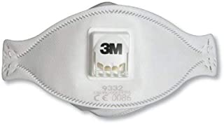 3M Aura 9332+ Disposable Respirator FFP3 – Practical 3-panel design for improved facial movement and low breathing resistance disposable mask