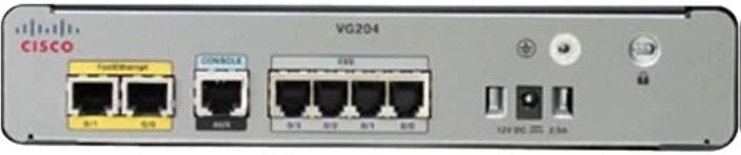 Cisco VG204XM Analog Voice Gateway - VoIP phone adapter - 10Mb LAN, 100Mb LAN