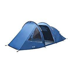 The Vango Beta 450XL 4-person tent has been updated with darker bedrooms to reduce the summer morning light. The tunnel tent design maximises the internal tent space relative to pack size. At over 2m wide, the generous sleeping space will comfortably...