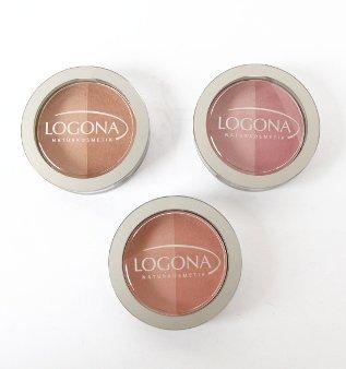 Logona Blush Powder, 0.35 oz - Beige/Terracotta by Logona Naturkosmetik