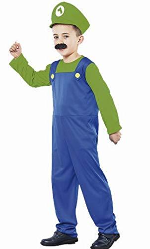 fyasa 706394-t02 Klempner kostuum, groen, medium
