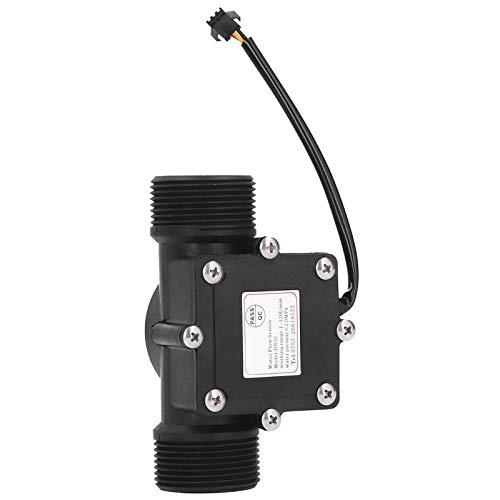 Medidor de Flujo de Agua Industrial YF ‑ DN32 G1.25in, Contador de Caudalímetro de Agua de Tubería, Sensor Hall DC3‑24V, Resistente a la Corrosión y al Desgaste, para Calentadores de Agua, Bebederos