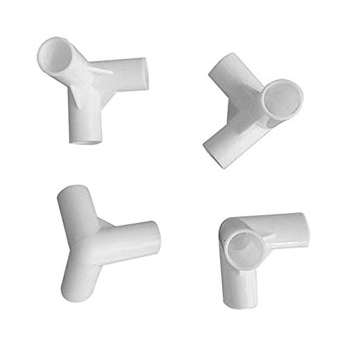 Qagazine Gazebo Conector Centro Conector Conector PVC Montaje Piezas de repuesto para Gazebo Toldo Pies Gazebo Reemplazo