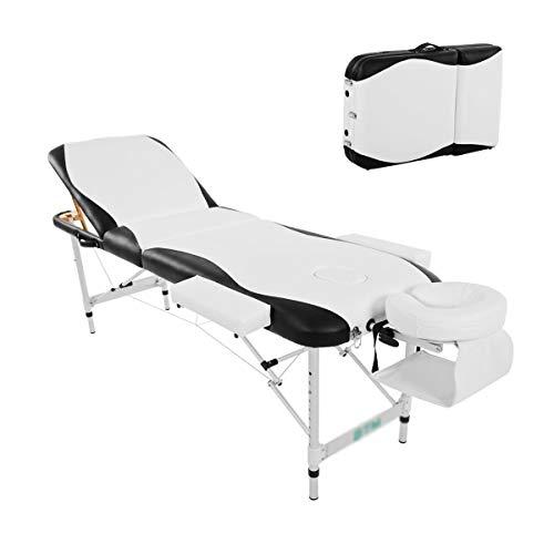 Kays Table Massage Professionnelle avec Support De Bras D'appui-tête