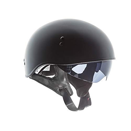 TORC T55 Spec-Op Half Helmet (Flat Black, Medium)