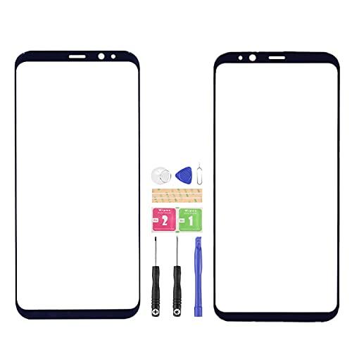 Para Samsung Galaxy S8+S8 Plus 6.2 'pulgadas reemplazo del panel de vidrio para G955F G955FD G955A piezas exteriores de la lente (no LCD, no pantalla táctil)