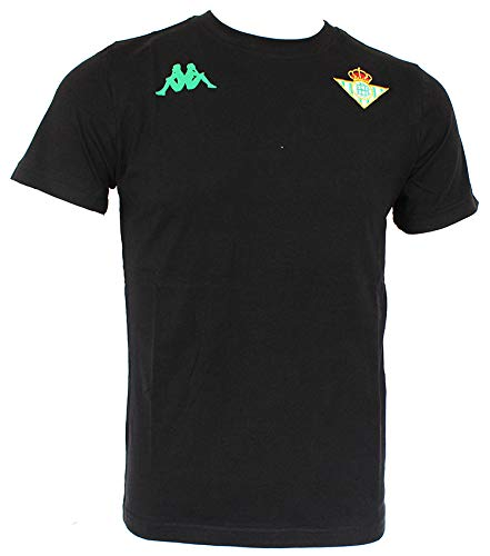 Kappa ZOSHIM 3 Betis Camiseta, Hombre, Negro, L