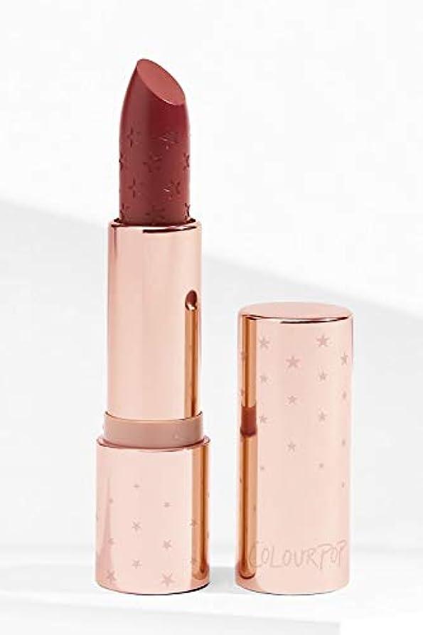 頭蓋骨中央反乱COLOURPOP LIQUID COURAGE Cr鑪e Lux Lipstick
