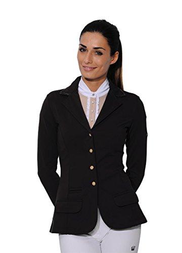 SPOOKS Turnierjacket Showjacket Sequin black Größe XXS
