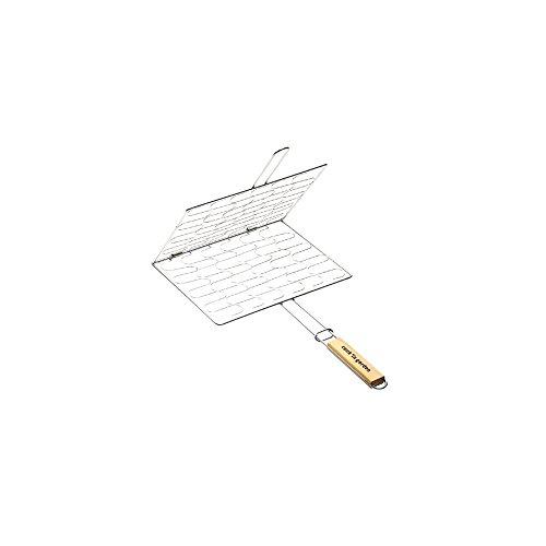 Cookin garden - gr205 - Grille barbecue enveloppe 34x28cm