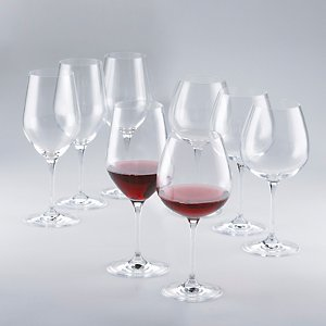 Fusion Classic Red Wine Glass Collection -Set of 8
