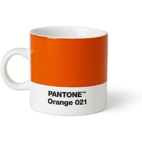 Copenhagen design Pantone Espresso, Small Coffee Cup, Fine China (Cera