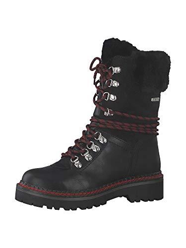 Tamaris 1-26982-33 Damen Stiefel Stiefeletten Warmfutter, Schuhgröße:38 EU, Farbe:Schwarz