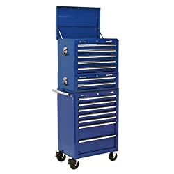 All heavy gauged steel construction and manufactured with steel inner walls for extra strength and durability. Heavy-duty 45mm ball bearing drawer slides provide superior performance and carry heavier loads. Full height rear locking mechanism, locks ...