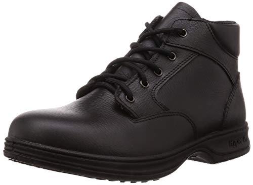 [日進ゴム] 安全靴 ハイパーV#9100 耐油防滑 JIS規格S種 メンズ ブラック 29 cm 3E