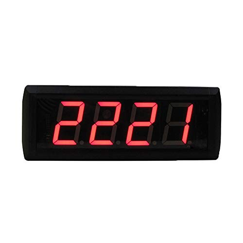 Lwieui Reloj de Cuenta atrás Reloj de Cuenta Regresiva for la Conferencia Cuenta Regresiva Minutos de temporización Segundos Reloj de Pared LED Gran Reloj de Cuenta atrás Digital
