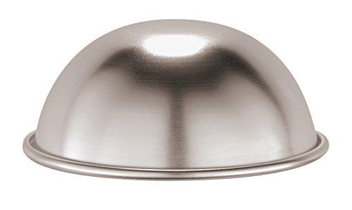 PADERNO 47069-12 - Moule en Demi-sphère en Aluminium pour zuccotto, 12 cm
