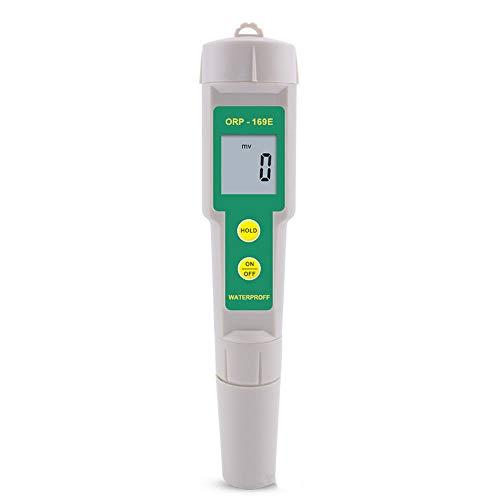 Medidor portátil de prueba de calidad del agua, medidor de pluma de calidad de agua ORP, rango de medición de 0 ~ ± 1999mg/LmV, resolución de 1mV, calibración de 1 punto