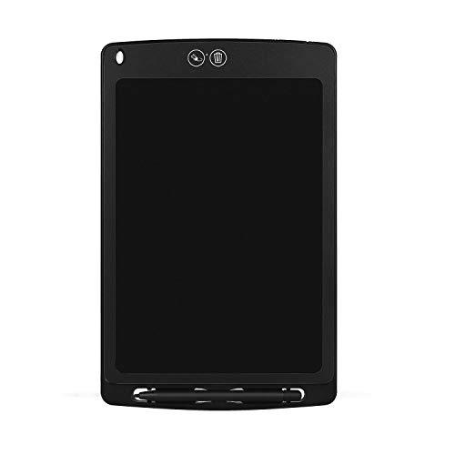 Gaetooely Tableta de Escritura LCD de 8.5 Pulgadas Tablero de Escritura Borrable Parcial Tablero de Escritura Tablero de Escritura GráFica Juguete para NiiOs Negro