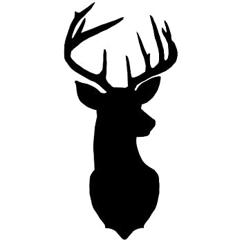 Woodburns Pack of 3 Deer Stencils Cut from 4 Ply Mat Board 11x14 8x10 and 5x7