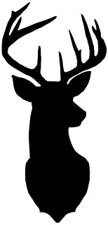 Pack of 3 Deer Head Style 2 Stencils, 16x20, 11x14 and 8x10 Made from 4 Ply Matboard