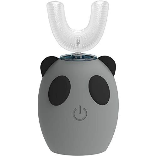 Cepillo de dientes eléctrico ultrasónico para niños, en forma de U 360...