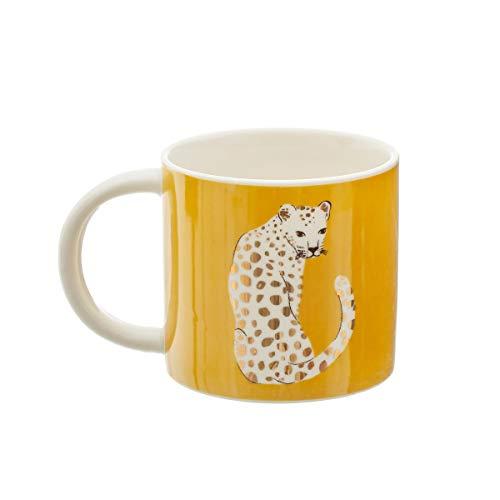 Sass & Belle Tasse mit Leoparden-Motiv