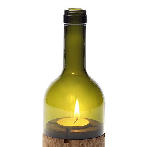 Side by Side - Ersatzglas für Weinlicht - Farbe: Grün - Glas - ERSATZTEIL !!!