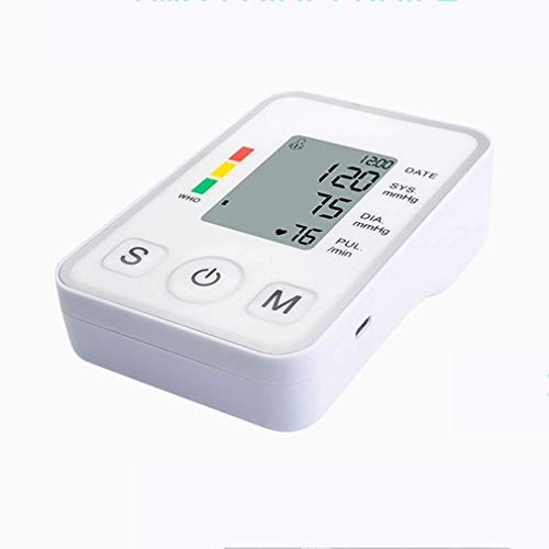 Oberarm Blutdruckmessgeräte Oberarm-Blutdruckmessgerät beleuchtetes LCD-Display intelligente automatische BP Cuff Maschine Puls-Impuls-Überwachung Sphygmomanometer for Heim Hospital Medical Sport Erke