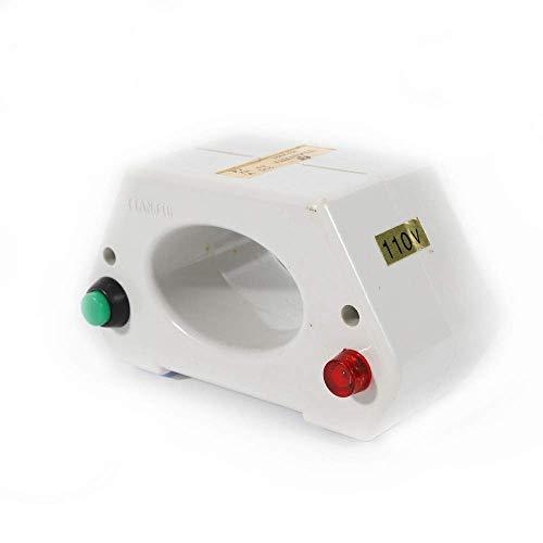 LOYALHEARTDY Watch Demagnetizer Repairing Tool Demagnetization Machine Multi-Functional Repair Screwdriver Mechanical/Quartz Electrical Demagnetise Tools US Plug 110V