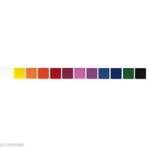 Artemio UBO01 Mosaïque, Résine, Multicolore, 12 x 4,5 x 15 cm