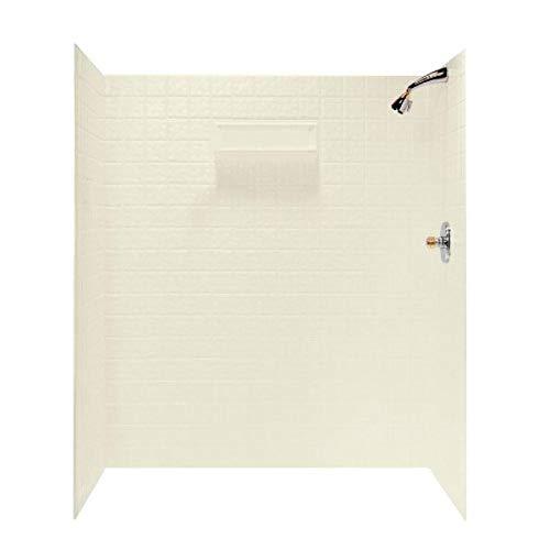 Swanstone TI-7260-037 Veritek Glue-up 5 Panel Bathtub Wall...