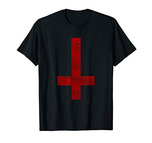 Urban Backwoods Satanic Cross Herren M/änner Tank Top Training Shirt