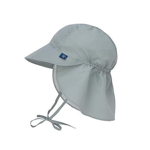 LÄSSIG Sonnenhut Kinder - Flap Hat, Olive, 09-12 Monate