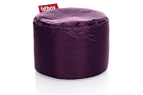 Fatboy® Point lila Nylon-Hocker | Runder Sitzhocker | Trendiger Poef/Fußbank/Beistelltisch | 35 x ø 50 cm