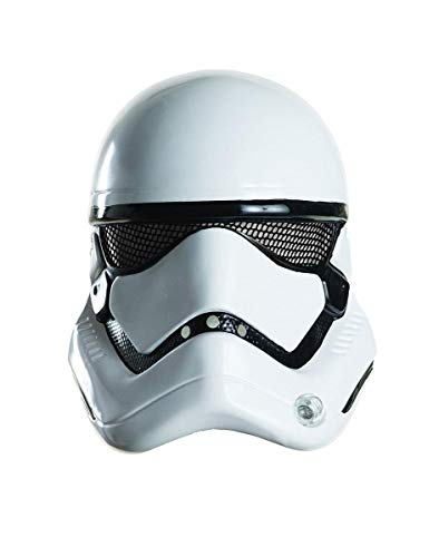 Rubie's Star Wars: The Force Awakens Stormtrooper Half Mask, As Shown, One Size