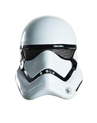 Star Wars: The Force Awakens Adult Stormtrooper Half Helmet, One Size