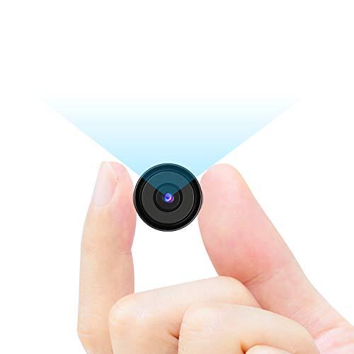 Dericam 1080p Mini cámara oculta Mini cámara espía cámara de seguridad, 4 en 1 HDCVI / HDTVI / AHD / 960H (CVBS) Cámara de vigilancia, pequeña cámara de niñera para seguridad en el hogar y la oficina